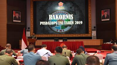 Asops Panglima TNI:BPusdalops TNI Miliki Peran Strategis Dalam Kesiapan Operasi