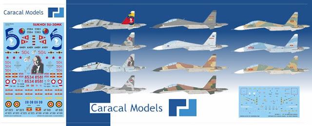 venezuela sukhoi su-30mk2 quinto aniversario bicentenario 5to ceo dir 119 camuflaje caracal models
