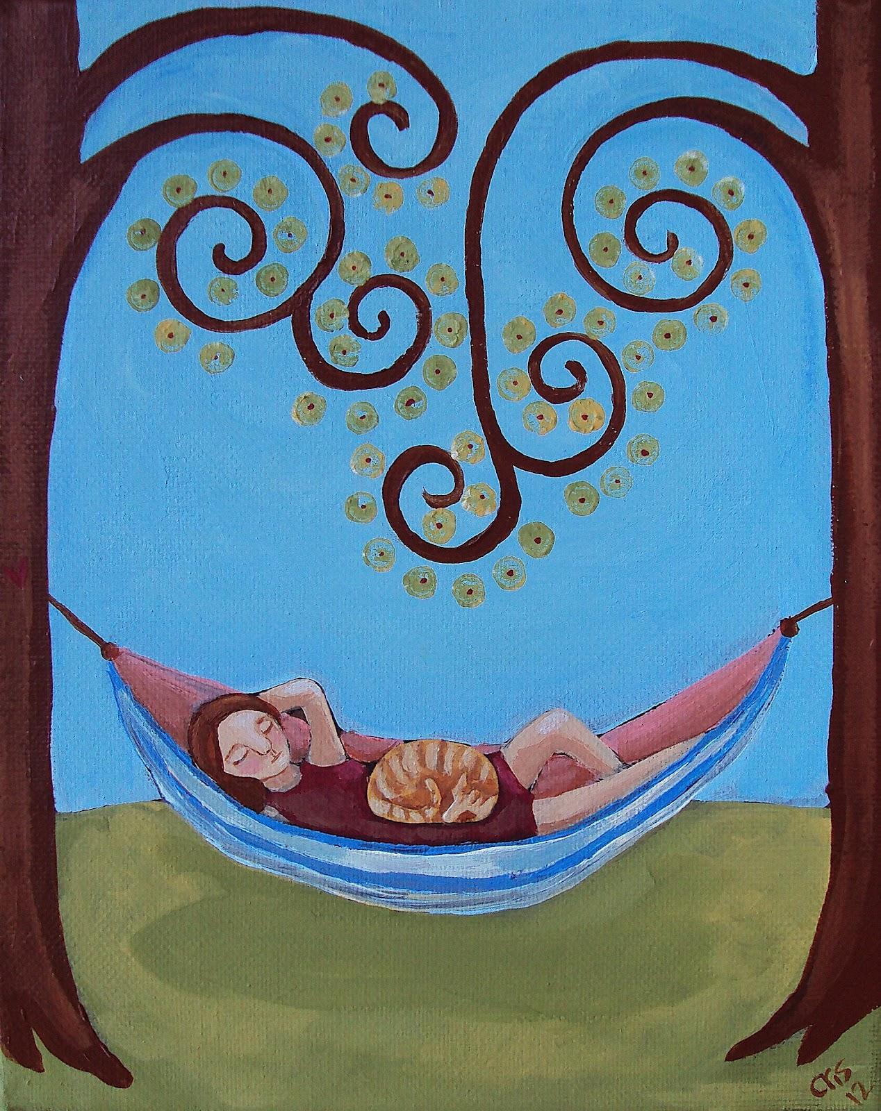 Mommy S Midwest Mountain Folk Art Hammock Nap