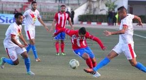 التعادل السلبي يحسم لقاء نهضة بركان والمغرب التطواني في الدوري المغربي