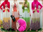 55635 Maxi Ceruty + Cardi + Pashmina SOLD OUT