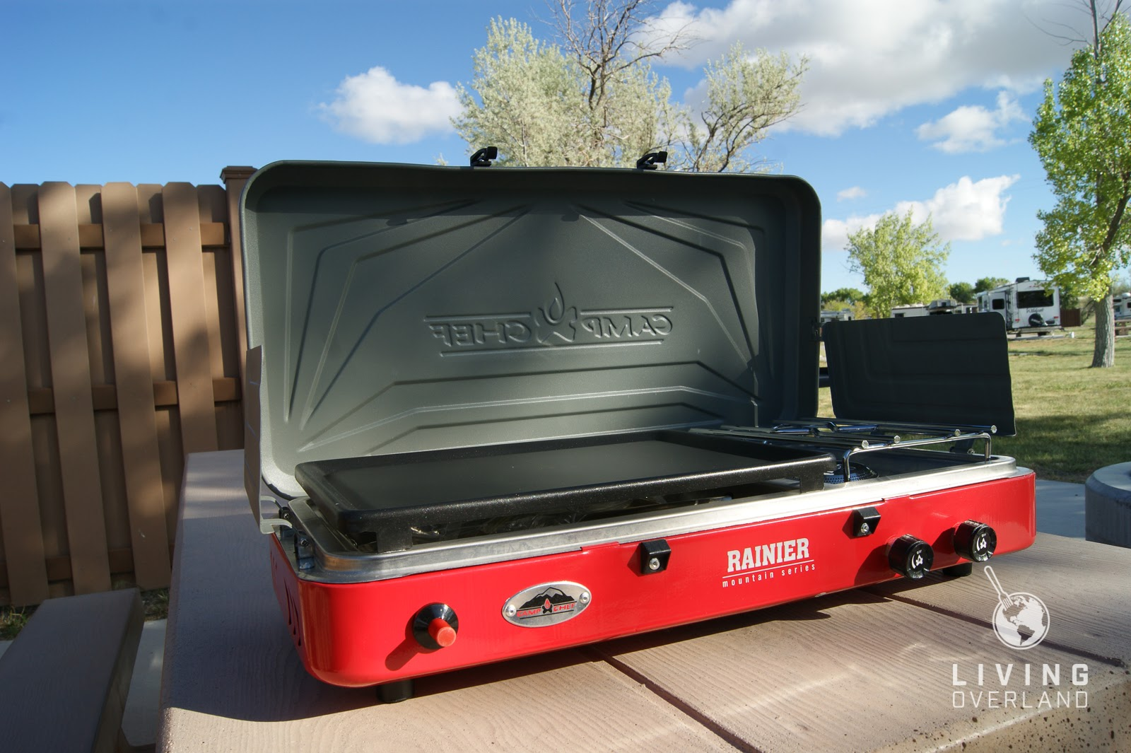 Denali Camp Stove Review Camp Chef Rainier Camper S Combo