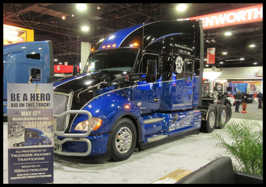Truckers Against Trafficking Everyday Heros 2019 Kenworth T680