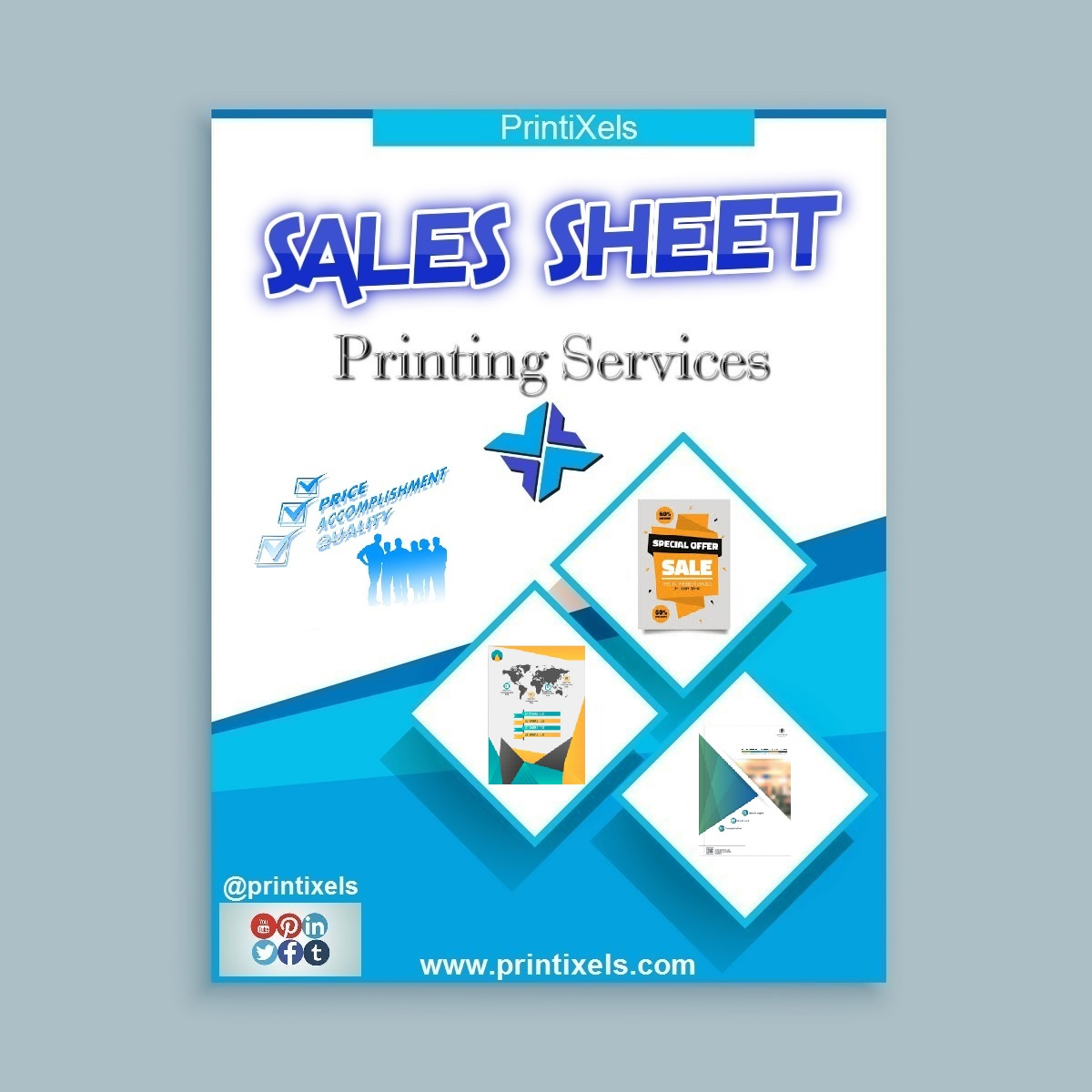 Sales Sheet Printing Services