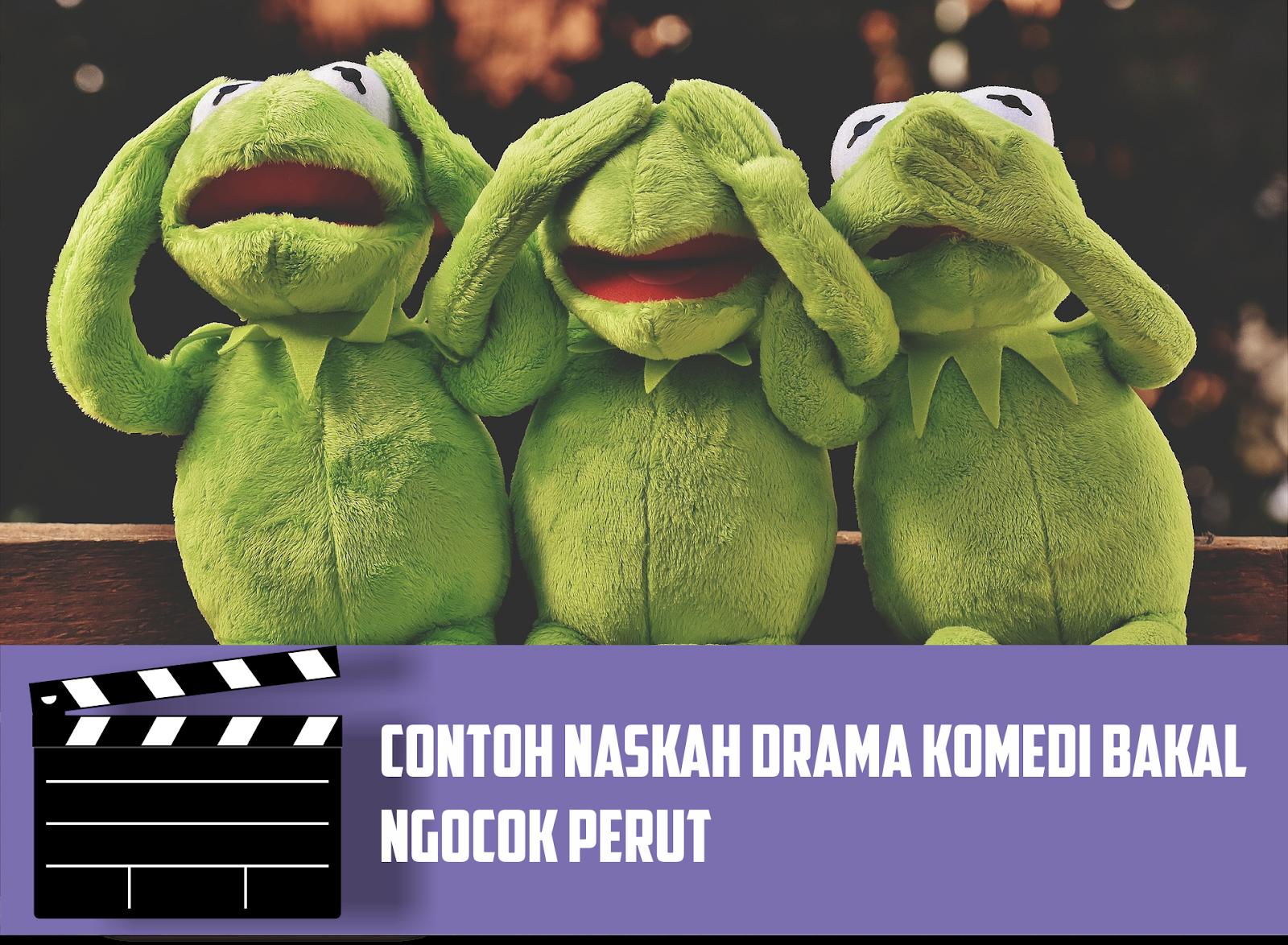 Contoh Teks Drama Komedi Singkat 5 Orangutanger Yang