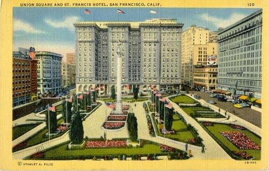 St Francis Hotel San Fran