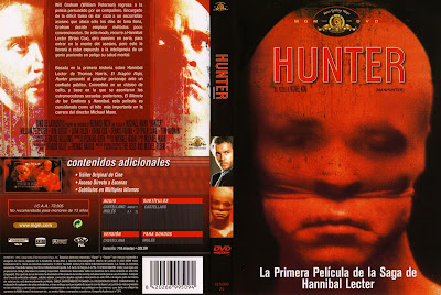 Hunter | 1986 | Manhunter | Carátula, cover, dvd
