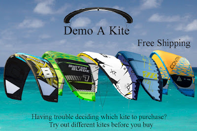 The new idea for testing latest kites in the U.S. directly at your home spot.