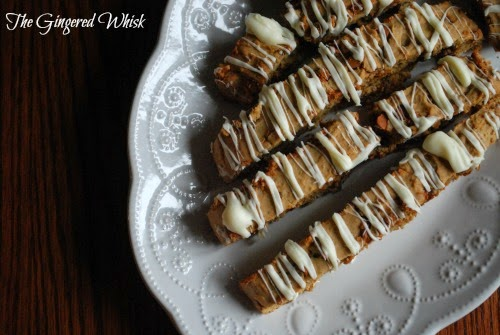 Sourdough Cinnamon Spice Biscotti (The Gingered Whisk)