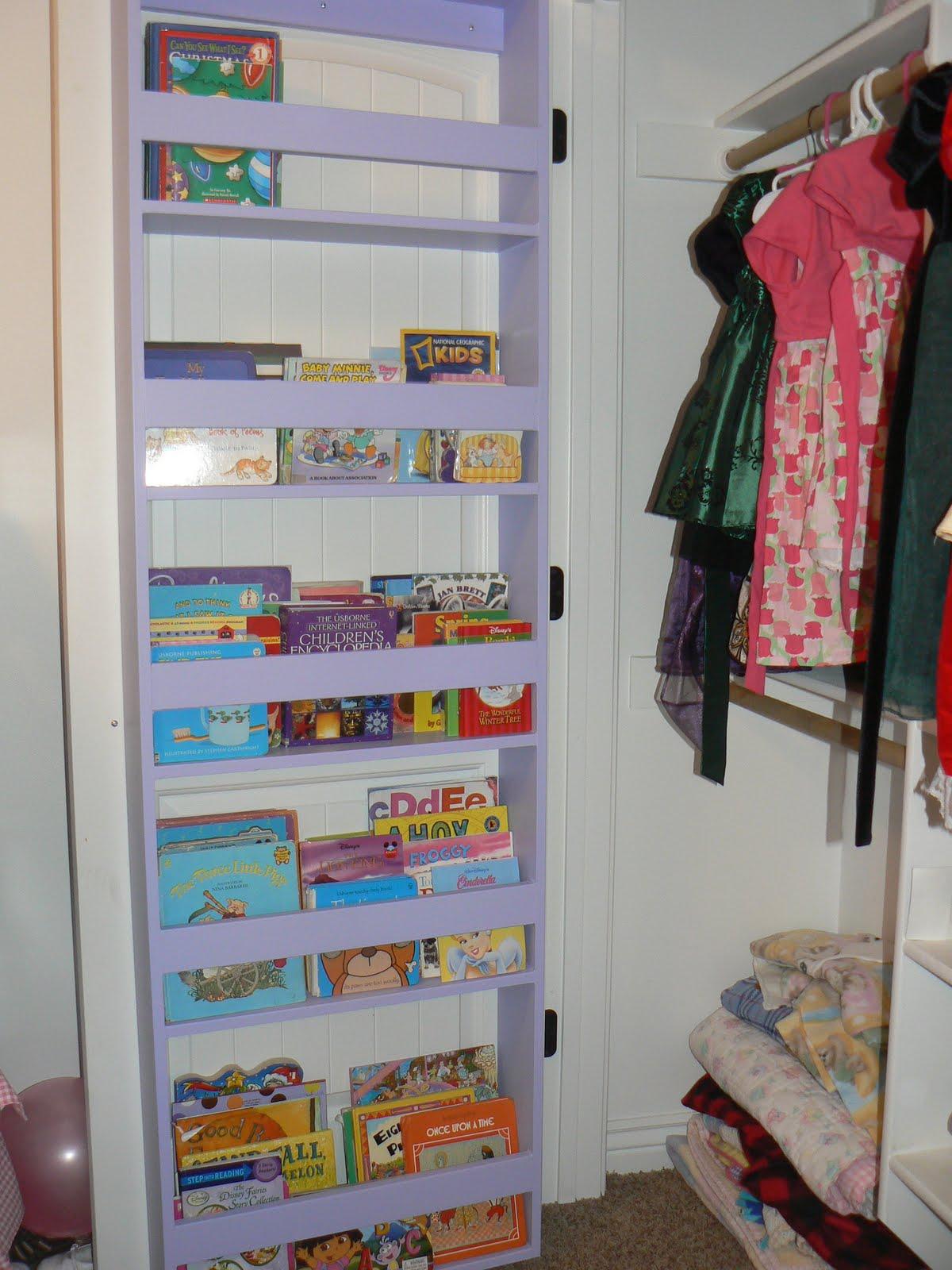 Closet Door with Storage   Bits of Everything