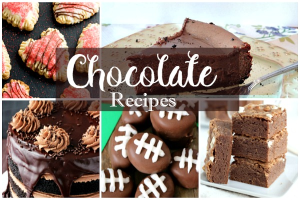 Party: Decadent Chocolate Recipes featured on Walking on Sunshine.
