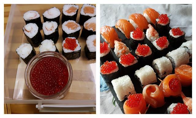 Sushi maki y nigiri II