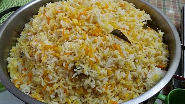 Recipe Nasi Jagung