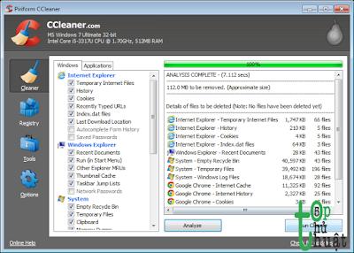 Cảnh báo phần mềm CCleaner bị hacker cài mã độc