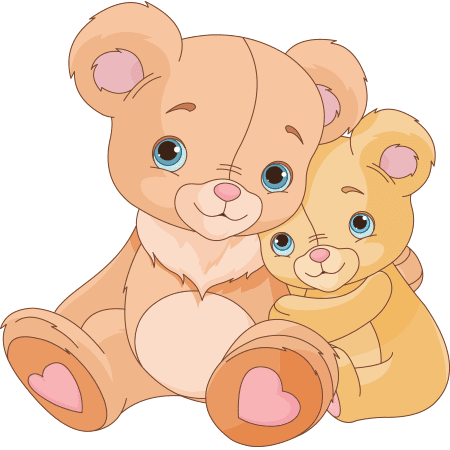 Teddy bear emojis