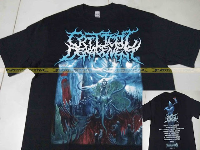 T-Shirt CRITICAL DEFACEMENT - Cover
