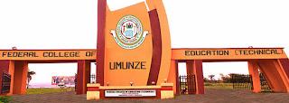 FCET Umunze Registration Deadline for 2020/2021 Announced