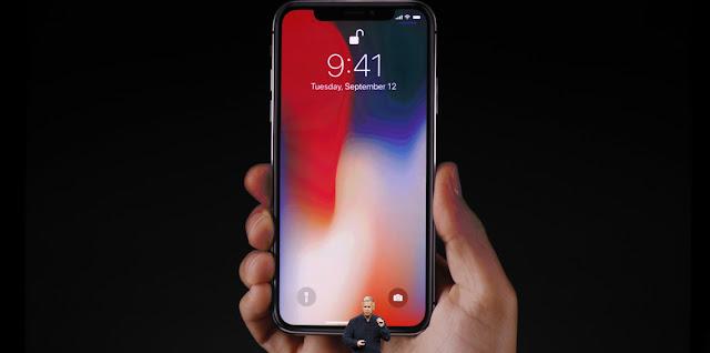 مواصفات ومميزات وعيوب جهاز ابل الجديد ايفون اكس iPhone X وايضا الموقف الحرج الذي تعرض له على الهواء مباشرة اثناء استعراض تقنية face id للجهاز