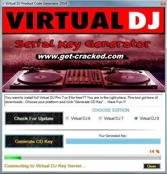 virtual dj serial number generator