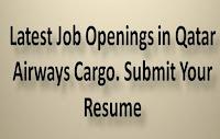 Latest Job Openings in Qatar Airways Cargo