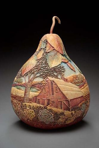 материалы природные, поделки, поделки из овощей, поделки из природных материалов, своими руками, поделки своими руками, из тыквы, вазы, вазы из тыквы, вазы для интерьера,  для интерьера, для сада, украшение интерьера, сувениры, поделки из тыквы,