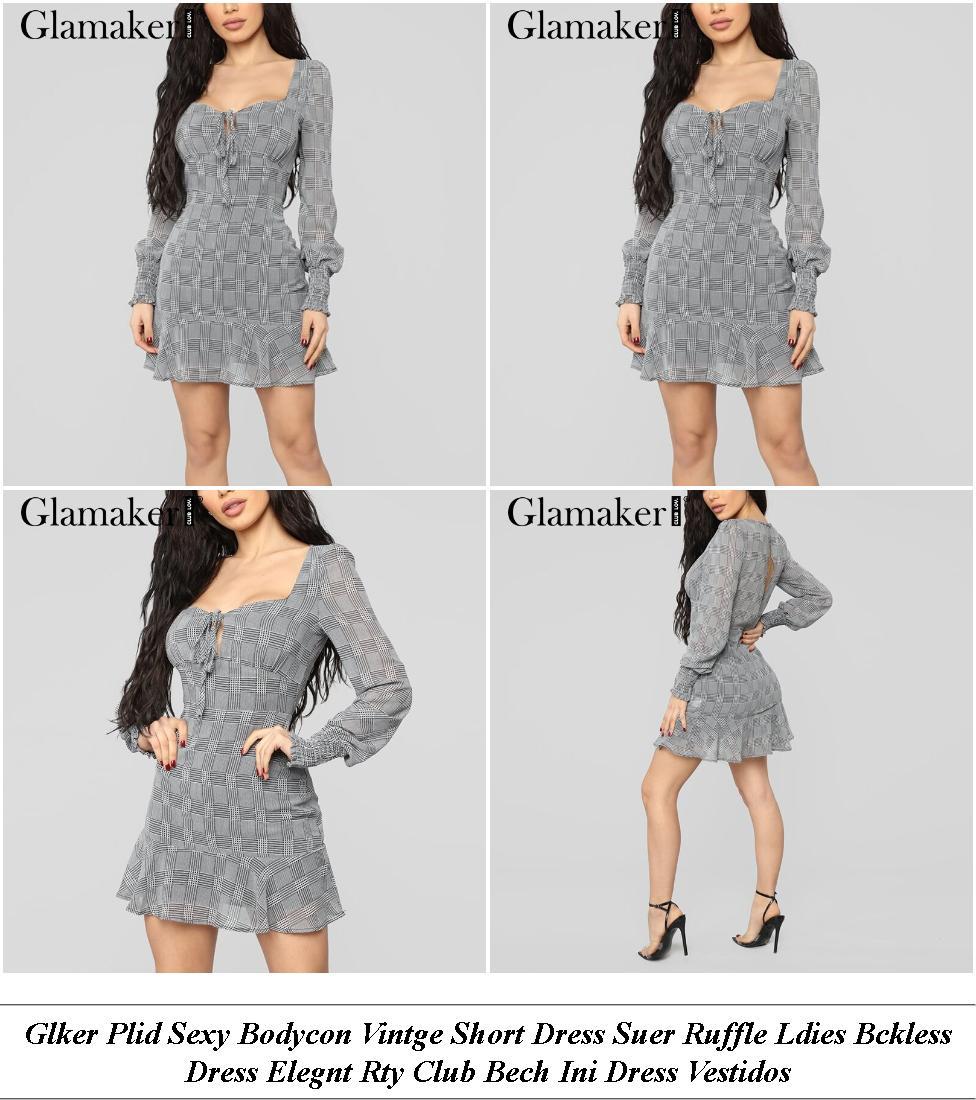 Plus Size Dresses - Sale On Brands Online - Long Sleeve Dress - Cheap Clothes Online Shop