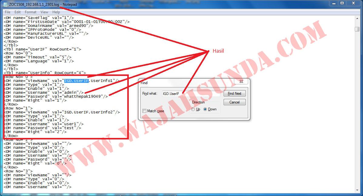 Login User Password Cracking ZTE F660 ~ Mulyana Sandi