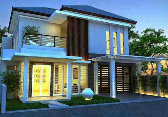 Bentuk Rumah Minimalis 2 Lantai Terbaru yang menjadi trend di tahun ini