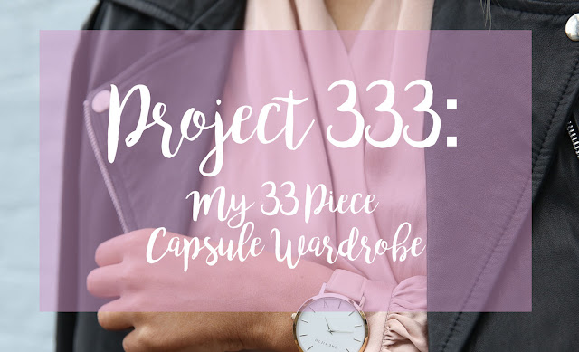 Project 333 Capsule Wardrobe Bullet Journal Bujo Planning