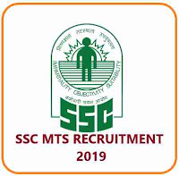 SSC Notification for MTS Post 2019 | 10th Pass Job