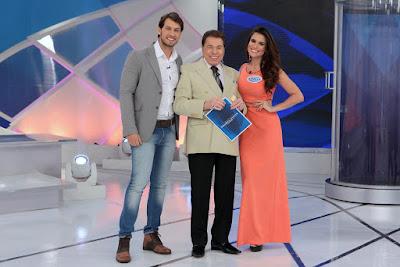 Eliéser, Silvio e Kamilla  (Crédito: Lourival Ribeiro/SBT)