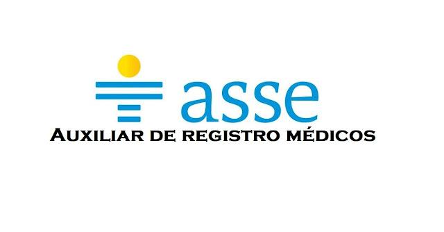 Auxiliar de registro médicos
