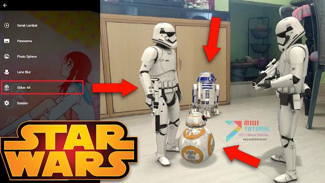 Augmented Reality Troopers dan BB-8 Star Wars ala Kamera Google Pixel 2 di Xiaomi Mi A1? Ini Tutorial Cara Installnya