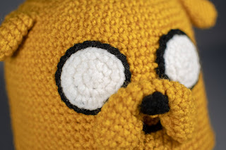 Jake the Dog Hat Free Crochet Pattern