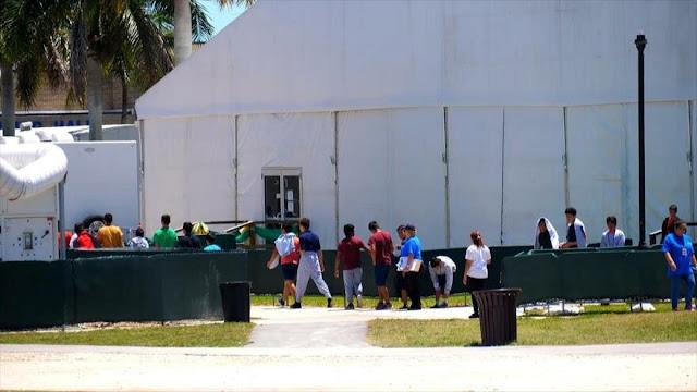 Denuncian existencia de campos de concentración para niños en EEUU