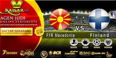 Prediksi FYR Macedonia vs Finland 23 Maret 2018