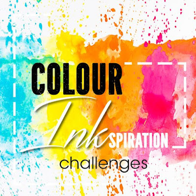 Jo's Stamping Spot - Colour INKspiration Challenge #058