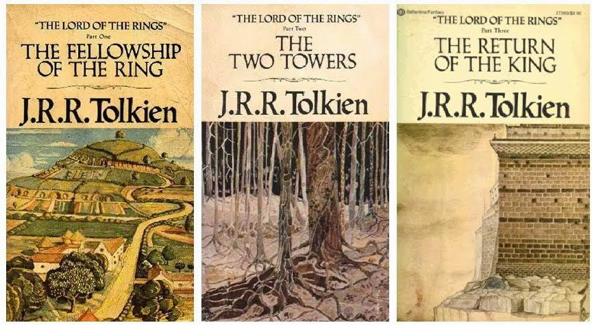 el señor de los anillos novelas