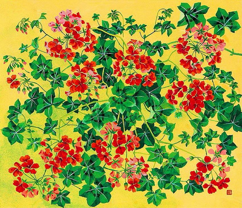 Cuadros modernos pinturas y dibujos cuadros de bodegones - Cuadros florales modernos ...