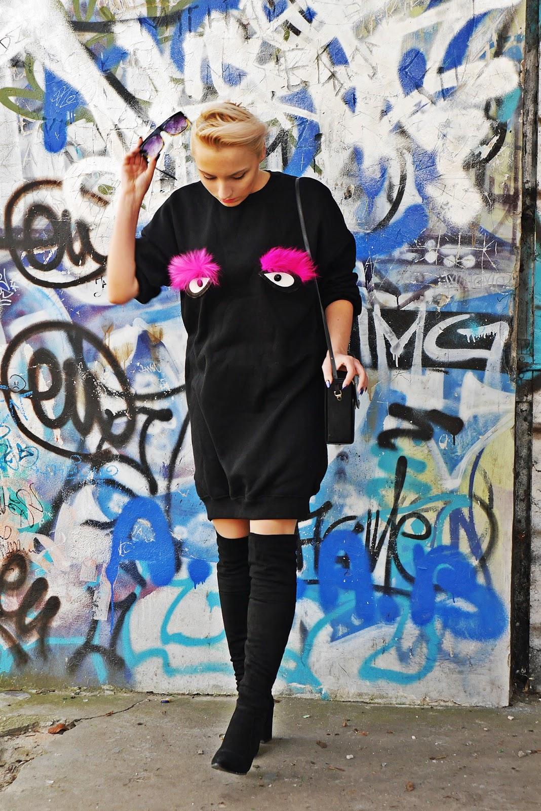 czarna_dluga_bluza_sukienka_oczy_karyn_blog_modowy_090217ab