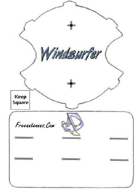 Antena casera windsurfer, para aumentar la señal de Wi-Fi