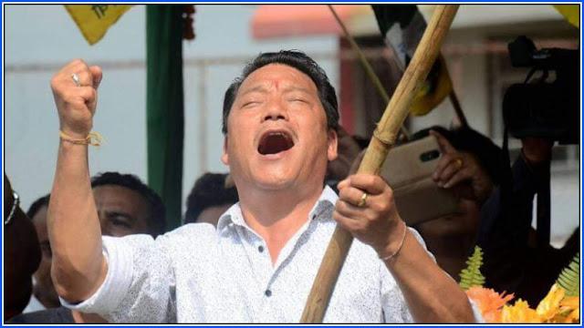 former Gorkha Janmukti Morcha (GJM) chief Bimal Gurung