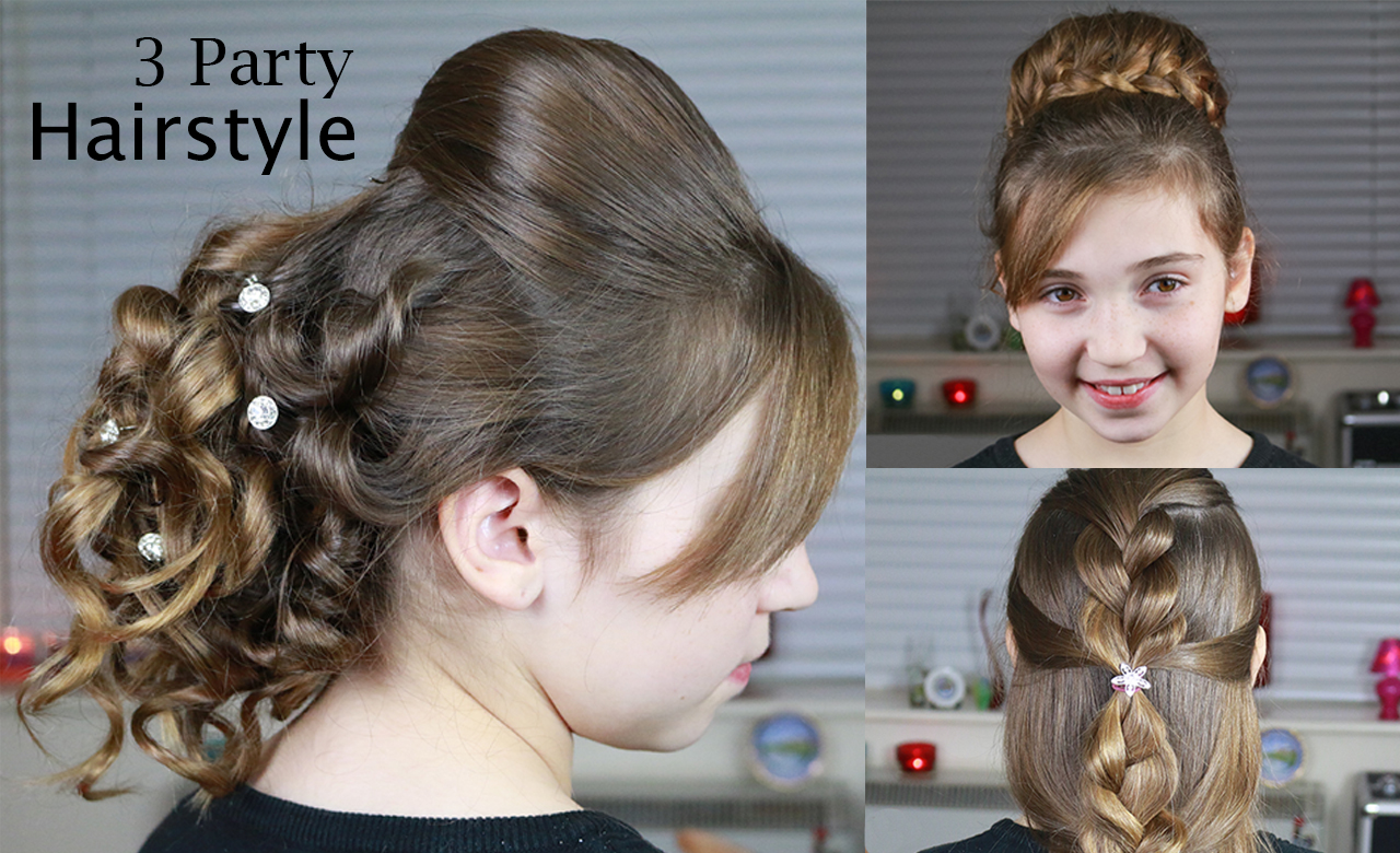 3 party hairstyles | indian wedding hairstyle | quick and easy