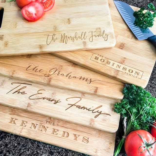 Jane: Personalized Bamboo Cutting Boards only $16 (reg $60)!