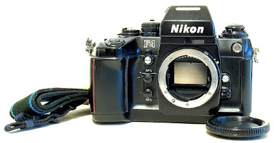 Nikon F4 with MB-20 Grip #695