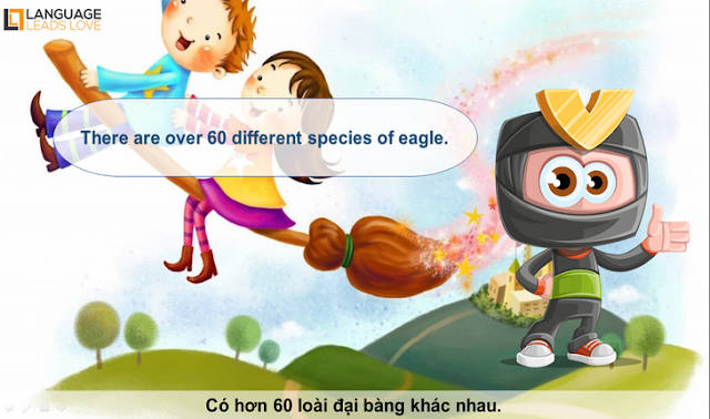 [Animals 14] Eagle l How to Teach animals for kids