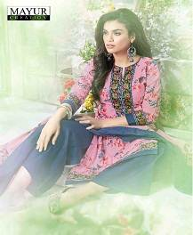 Mayur Khushi-37 New Arrival Dress Material Collection suit