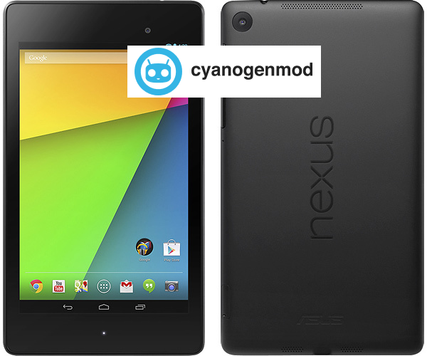 How To Install CM14.1 Android 7.1 On Nexus 7 (2013)