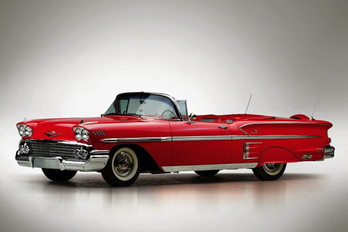 Chevrolet Bel Air Impala Convertible 1958