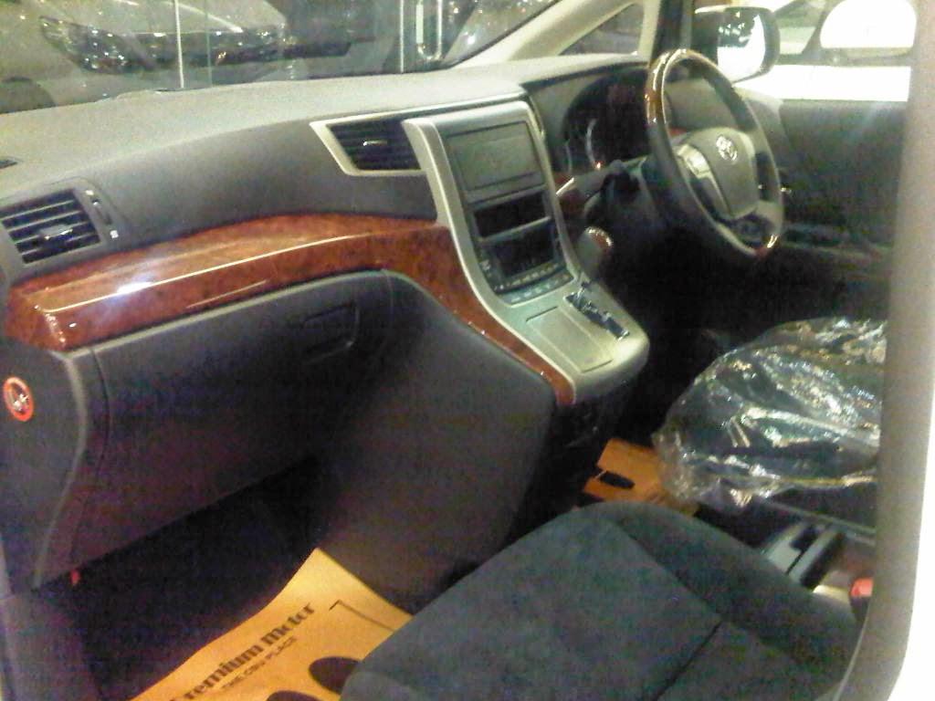 Alphard S Audioless 2014 Mobil Alphard Sc Import